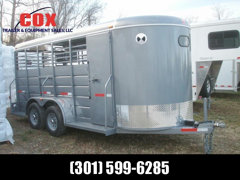 2018 W-W Trailer ALL AROUND 16 BP HD Livestock Trailer in Ashburn, VA