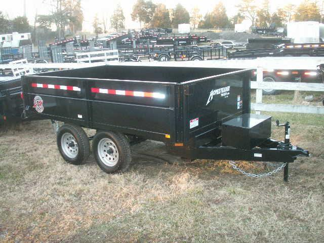 2017 Homesteader 6 10 D/O Dump Trailer