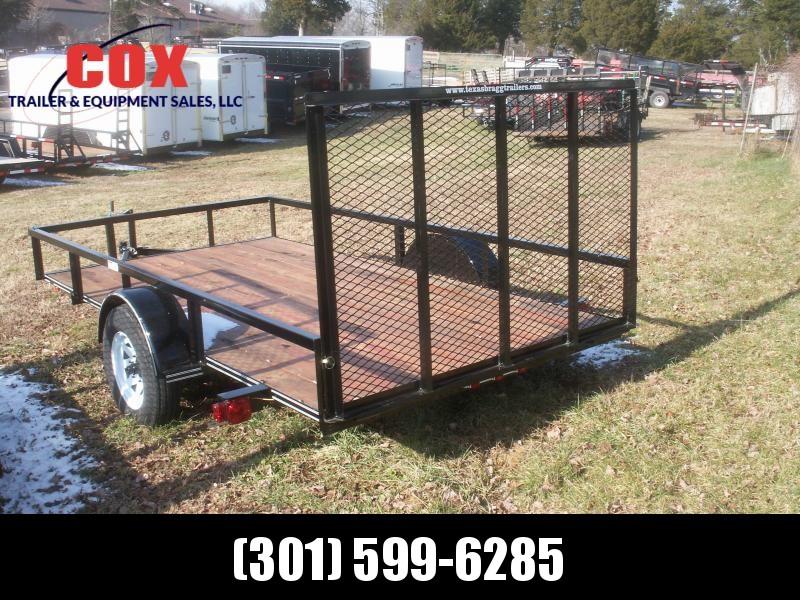 2019 Texas Bragg Trailers LD 29 12 W/GATE Utility Trailer