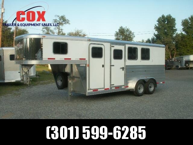 2015 Exiss 3-H GN SLANT EXTRA WIDE Horse Trailer in MD