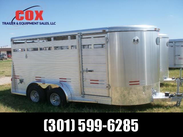 2015 W-W Trailer 16 ALL ALUMINUM 7WIDE Stock / Stock Combo Trailer in Ashburn, VA