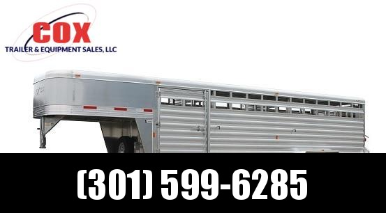 "2017 Exiss STK 8024 - 7'0"" Tall Stock / Stock Combo Trailer in Ashburn, VA"