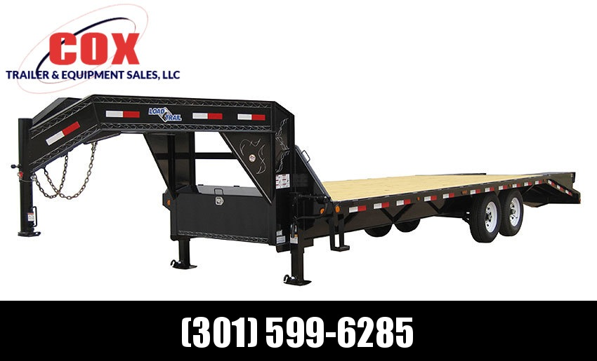 "2018 Load Trail 102"" X 20' Tandem Heavy Duty Gooseneck Equipment Trailer"