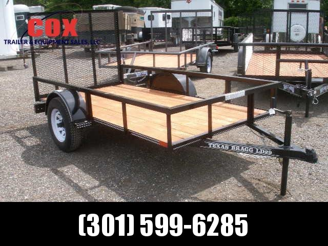 2016 Texas Bragg Trailers 8 w/gate Utility Trailer in Ashburn, VA