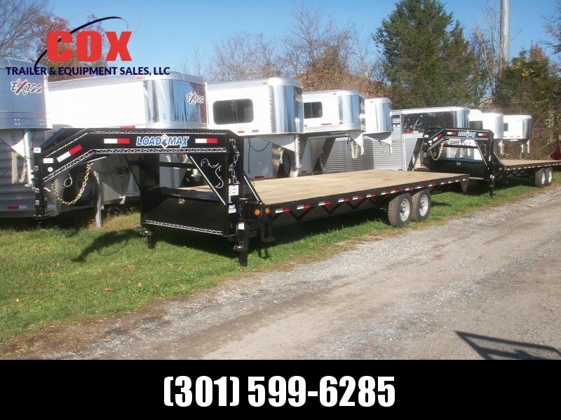 2016 Load Trail gooseneck flatbed straight floor with ramps Equipment Trailer in Ashburn, VA