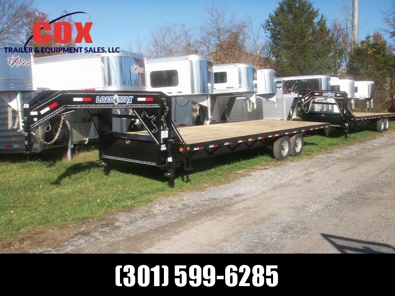 2016 Load Trail gooseneck flatbed straight floor with ramps Equipment Trailer in Ashburn, VA