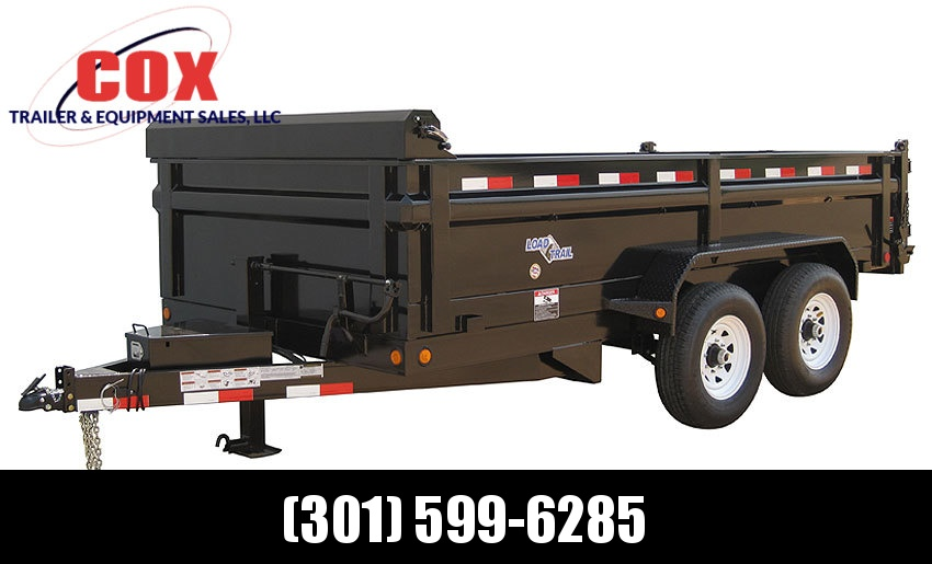 "2019 Load Trail 83"" X 12' Tandem Axle Dump Dump Trailer"