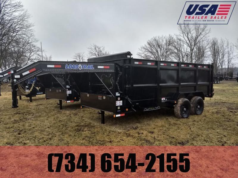 2018 Load Trail Gooseneck 83X16 Dump Trailer