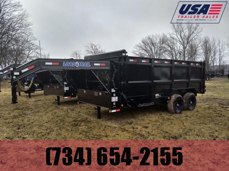 2018 Load Trail Gooseneck 83X16 Dump Trailer