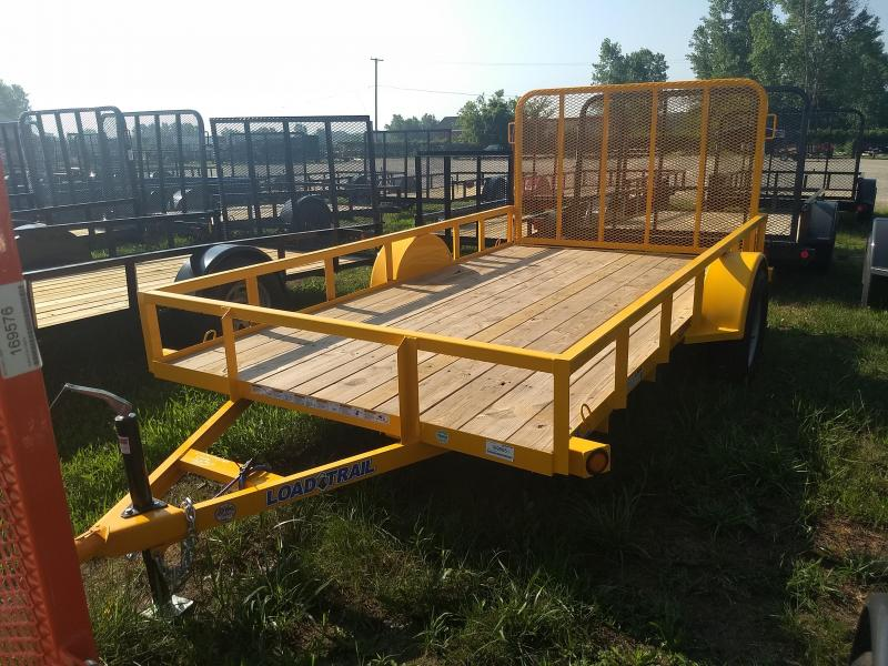 2018 Load Trail 6.4' X 12' Single Axle Utility Trailer