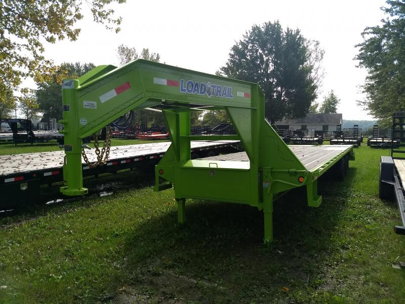 32' Deckover Gooseneck Equipment Trailer Load Trail Michigan's #1 selling brand of trailer