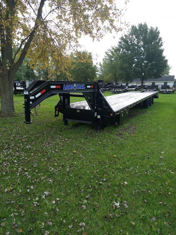 "2018 Load Trail 102"" X 40' Tandem Heavy Duty Gooseneck Equipment Trailer"