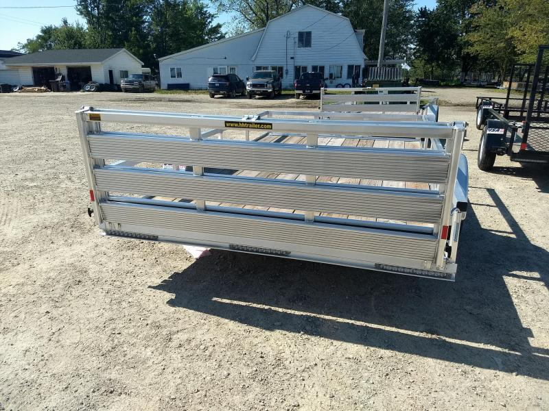 2018 H and H Trailer 8.5(82IN)X12 ALUM RAILSIDE