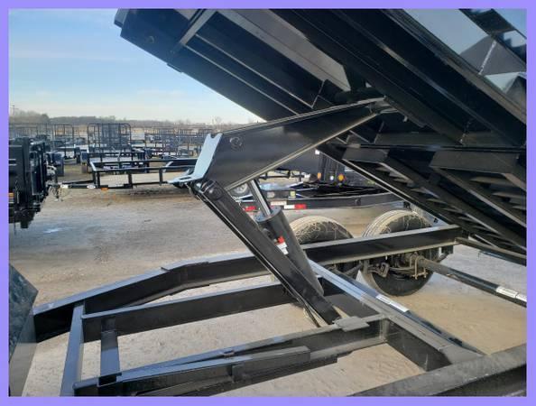 """Load Trail 72"""" X 12' 10K Dump Trailer Deluxe Model"""