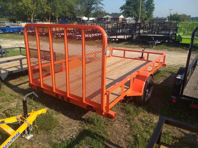 2018 Load Trail 6.4' X 12' Single Axle Utility Trailer