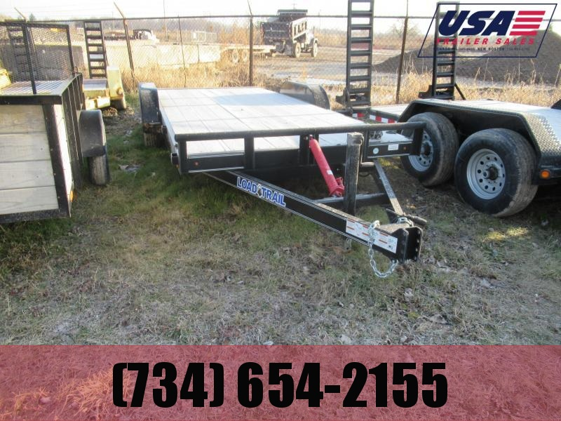 New Old Stock 18' Load Trail Tilt Deck Car hauler