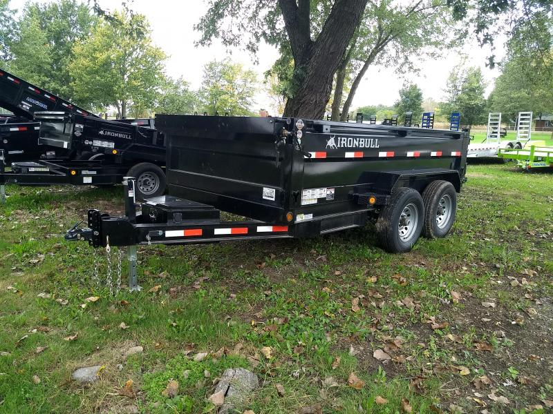 NEW 72X12 Iron Bull Dump Trailer 14K Base Model