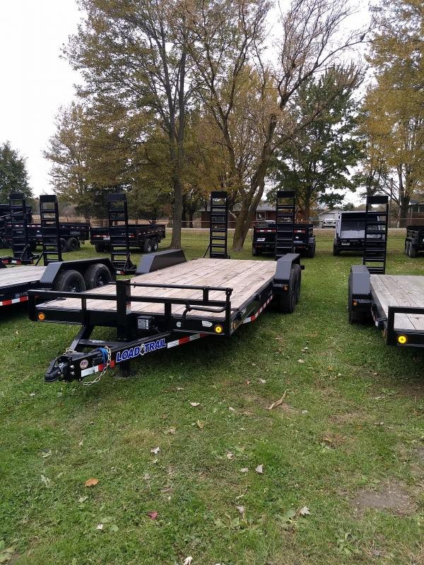 "2019 Load Trail 20"" 14K Equipment Trailer The Bench Mark Of Quality!!!!!"