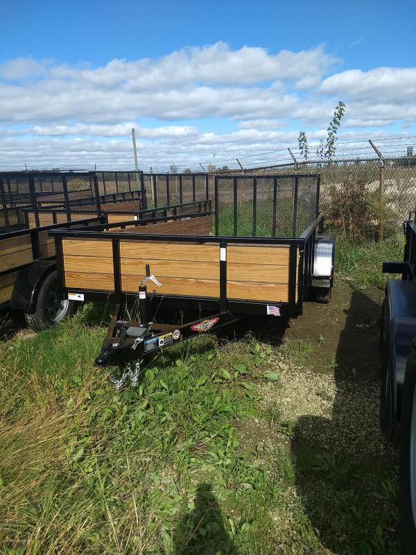 2018 H and H Trailer 82X14 STEEL WOOD SIDE TANDEM 7K