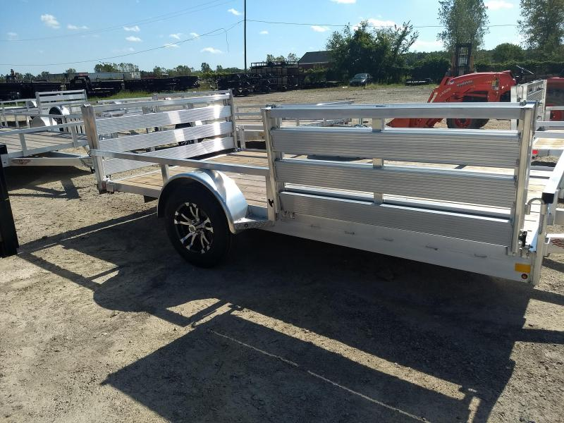 2018 H and H Trailer 82X12 RAILSIDE ALUM SIDEGATE 3K