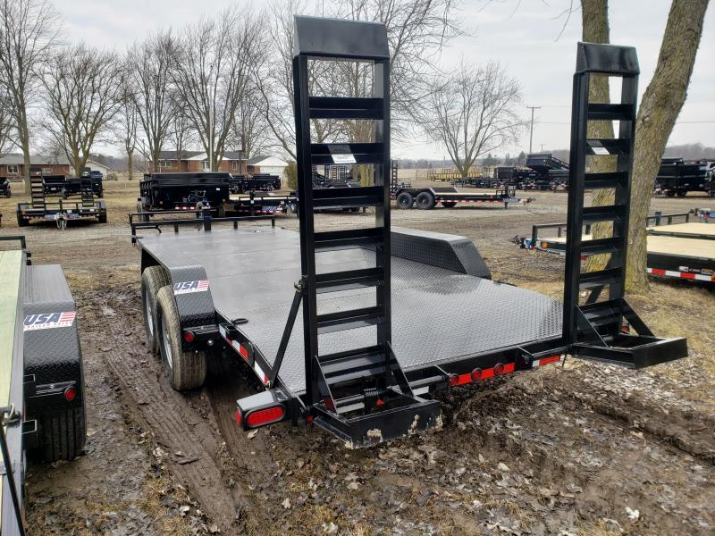 2019 Load Trail 20' 14K Equipment Trailer W/Steel Floor