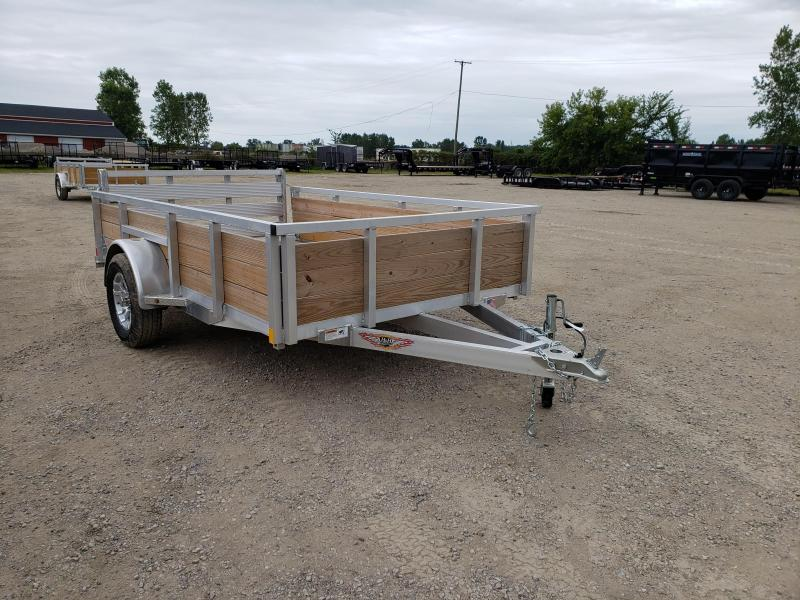 New 76x10 Aluminum Wood Side Landscape Trailer By H&H