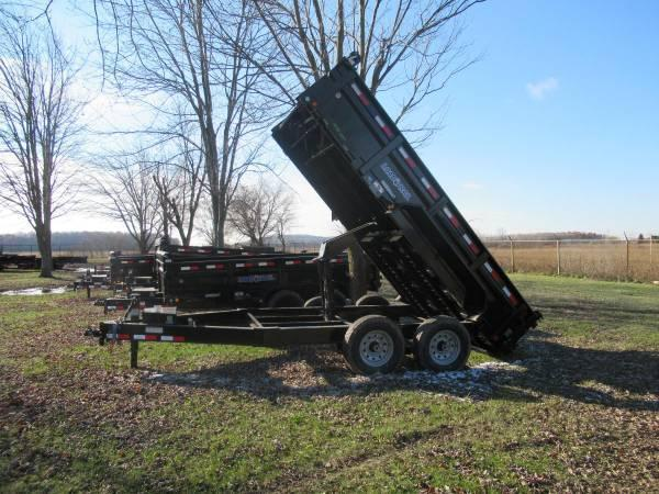 "Load Trail 83"" X 14' 14K Dump Trailer Deluxe Model"
