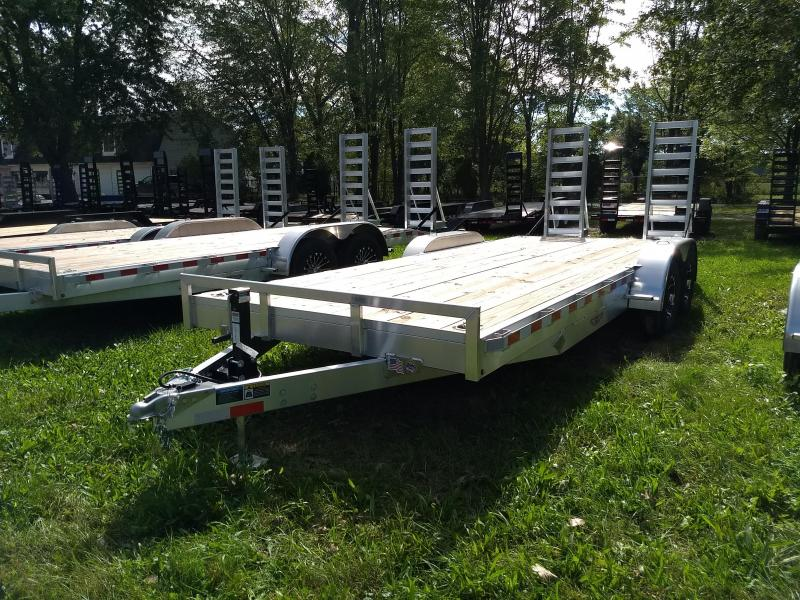 New 20' H&H  10K Aluminum Equipment Trailer On Sale And Priced To Move in VA
