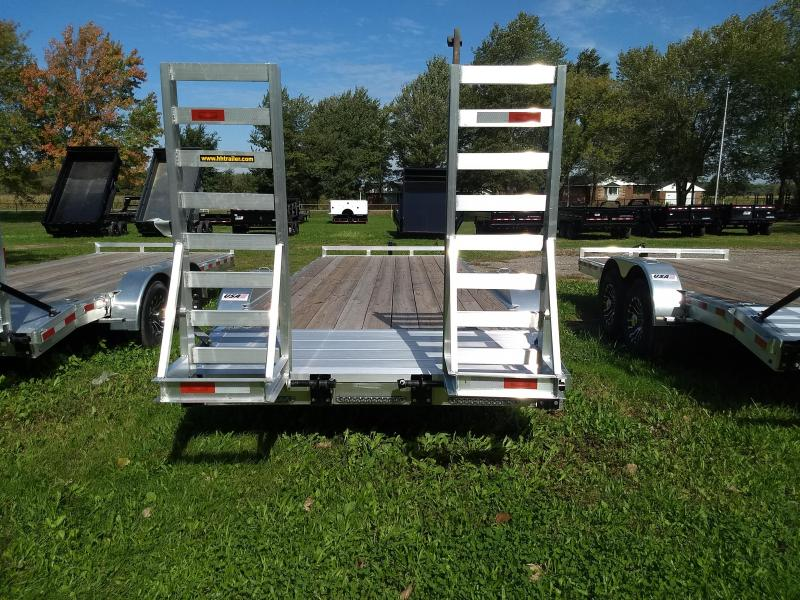 New 20' H&H  10K Aluminum Equipment Trailer On Sale And Priced To Move