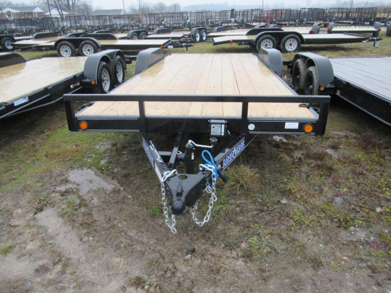 "Load Trail 18""  7K Car Hauler Trailer Michigan #1 Selling Brand Of Trailers"