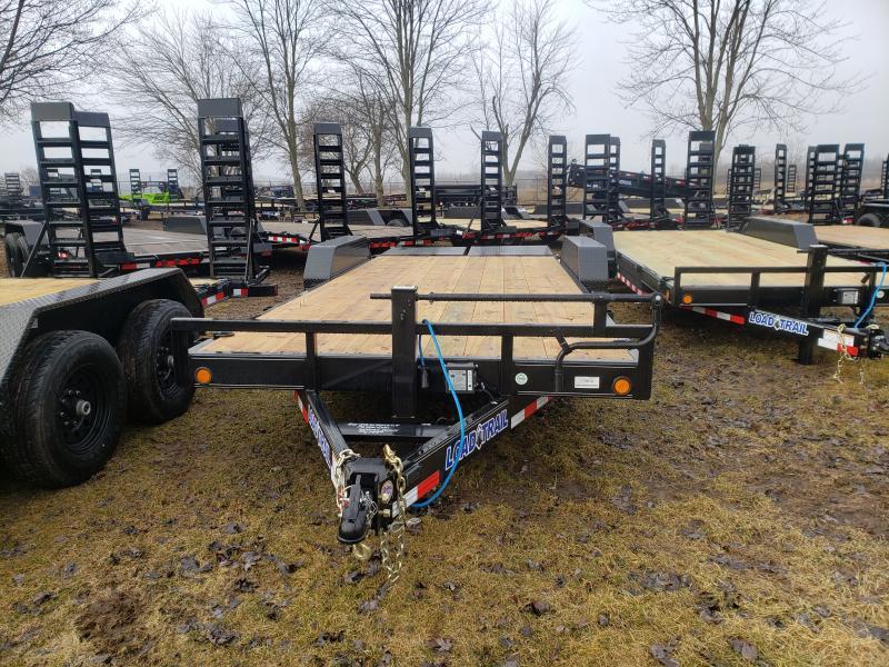Load Trail 20' 14K Equipment Trailer W/ Max Ramps