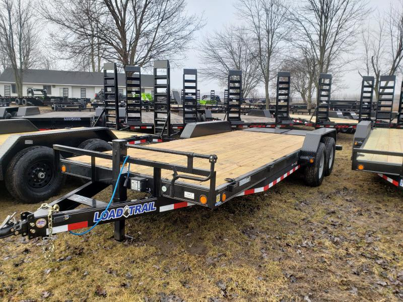 Load Trail 20' 14K Equipment Trailer W/ Max Ramps