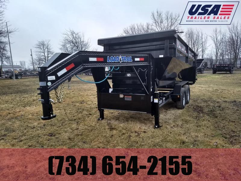 2017 Load Trail 14' Dump and Go Dump Trailer