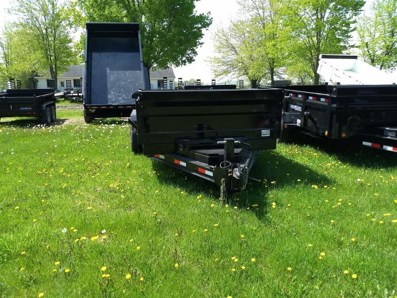 NEW 83X14 Iron Bull Dump Trailer 14K Loaded