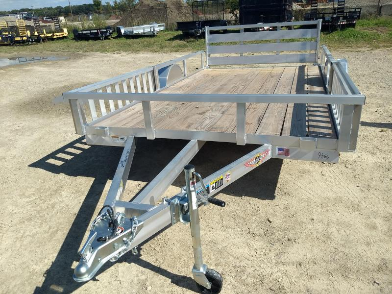 2018 H and H Trailer 82X12 RAILSIDE ALUM ATV 3K