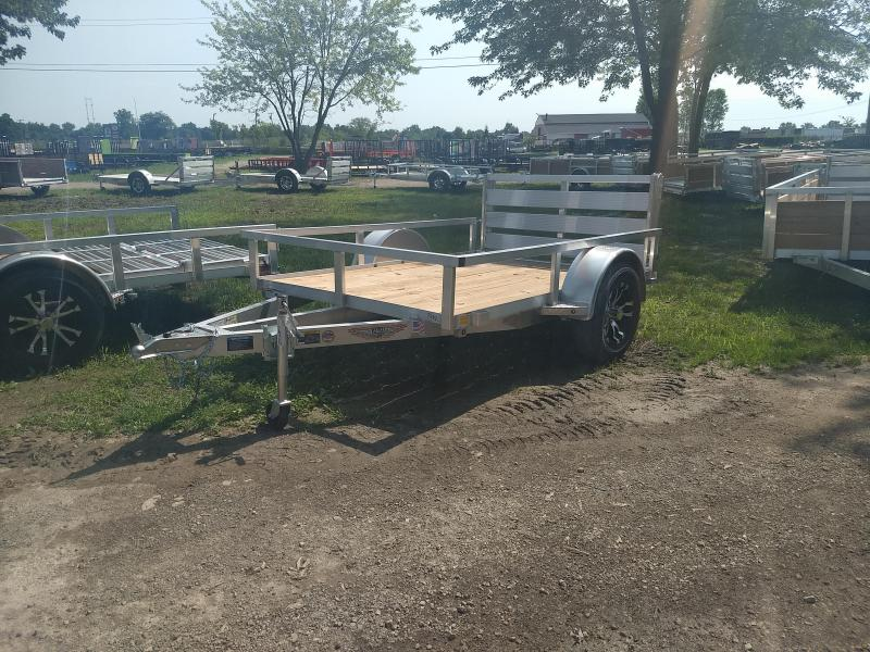 2018 H and H Trailer 5.5(66)X8 RAILSIDE ALUM STD