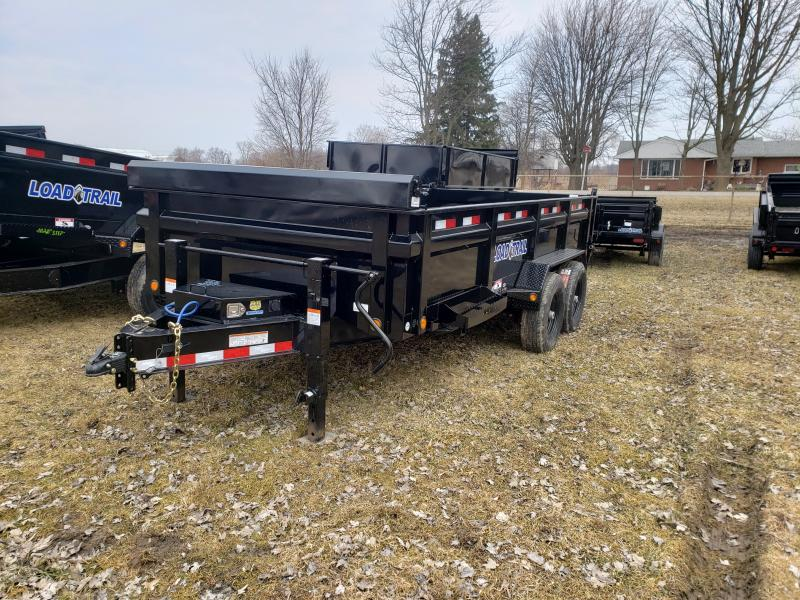"""Load Trail 83"""" X 16' 14K Dump Trailer Deluxe Model"""