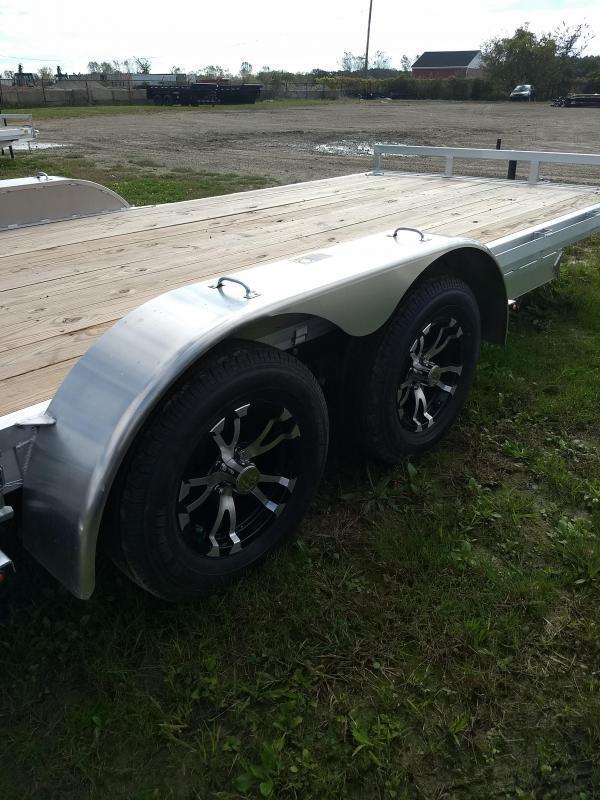 New 20' H and H Aluminum Carhauler Trailer