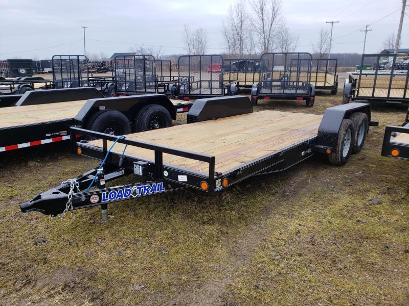 "Load Trail 18""  7K Car Hauler Trailer With Drop Axles"