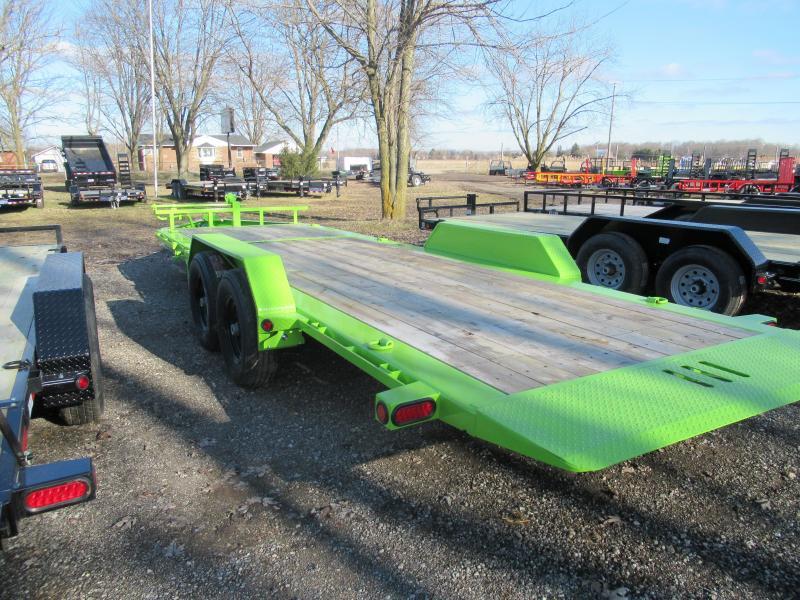 "2018 Load Trail 83"" X 22' Tilt-n-go Tandem Axle Equipment Trailer"