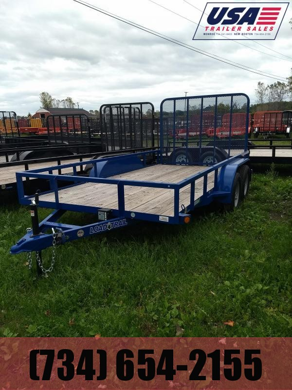 83X14  Load Trail Landscape Utility Trailer