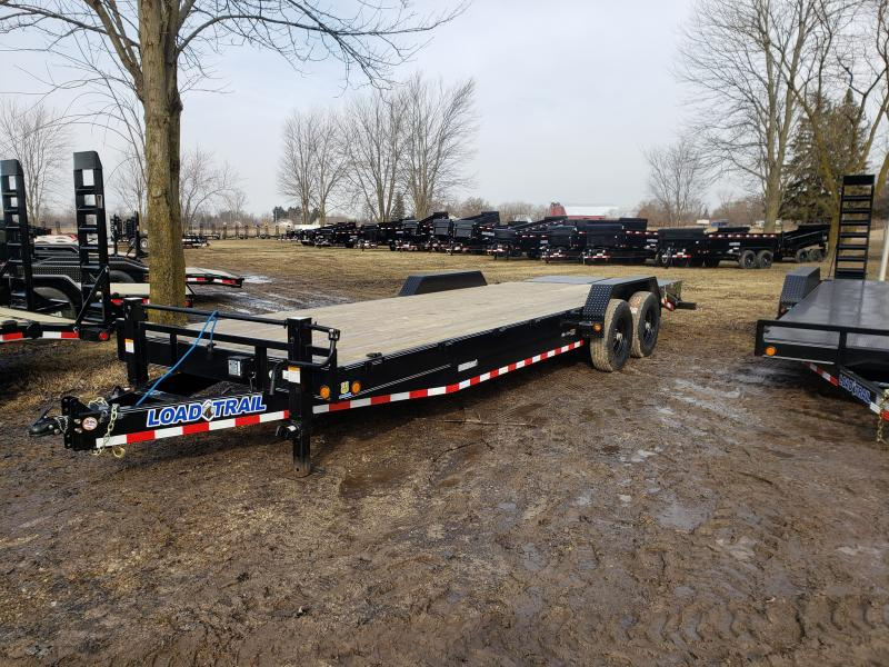 2019 Load Trail 24'  14K Equipment Trailer W/Max Ramps