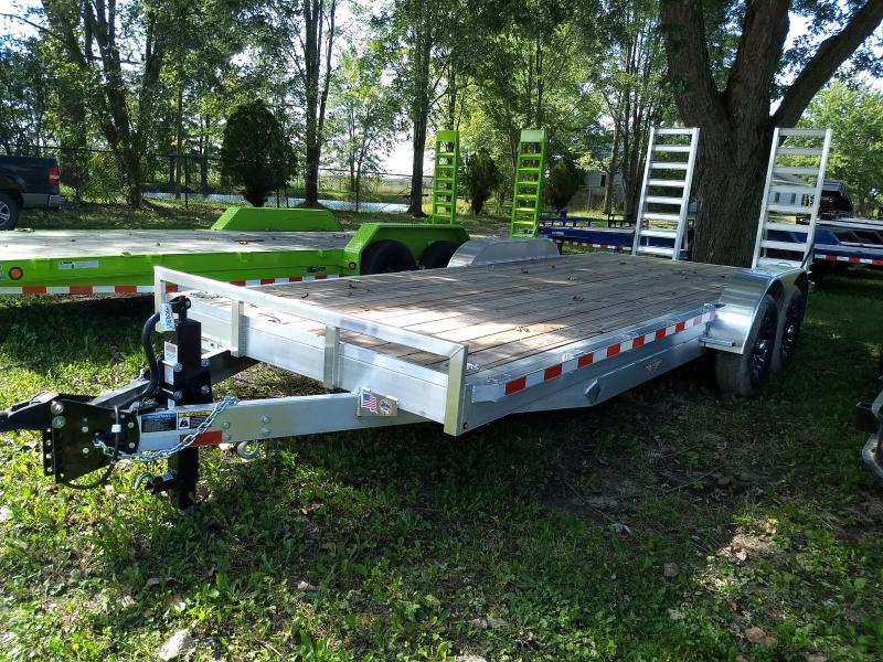 New 20' 14K H&H Aluminum Equipment Trailer Call Us Today