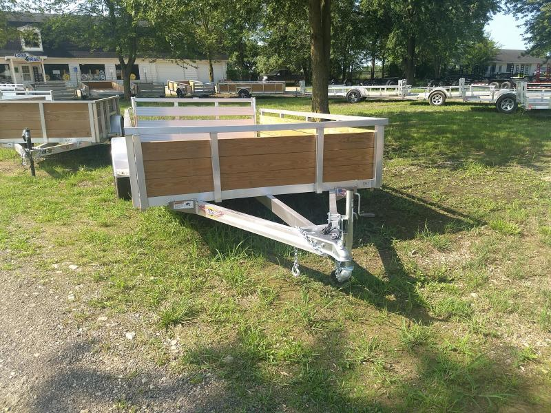 2018 H and H Trailer 8.5(82)X12 WOOD-SIDE ALUM 3K