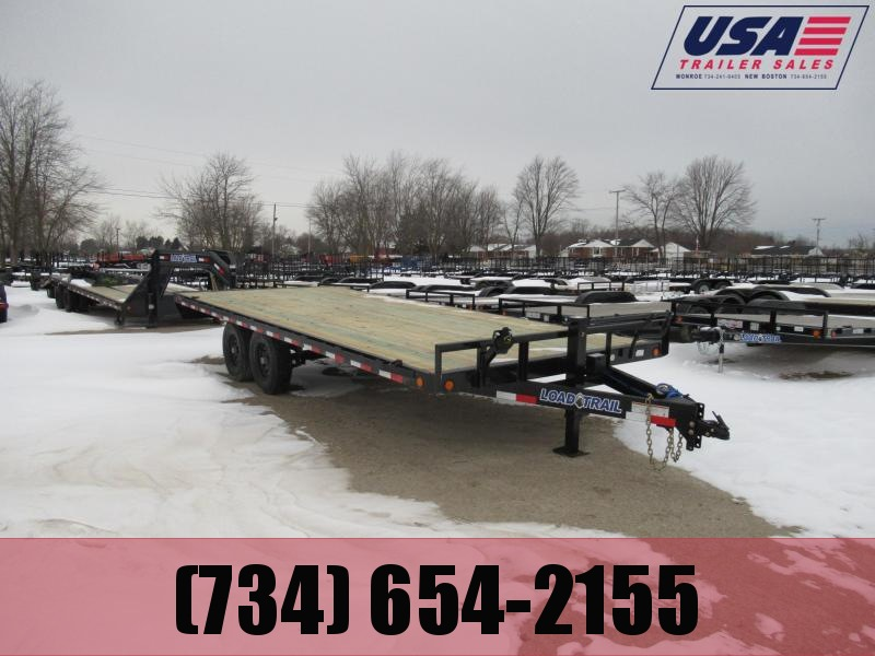 24' Load Trail Deck Over Flatbed14k