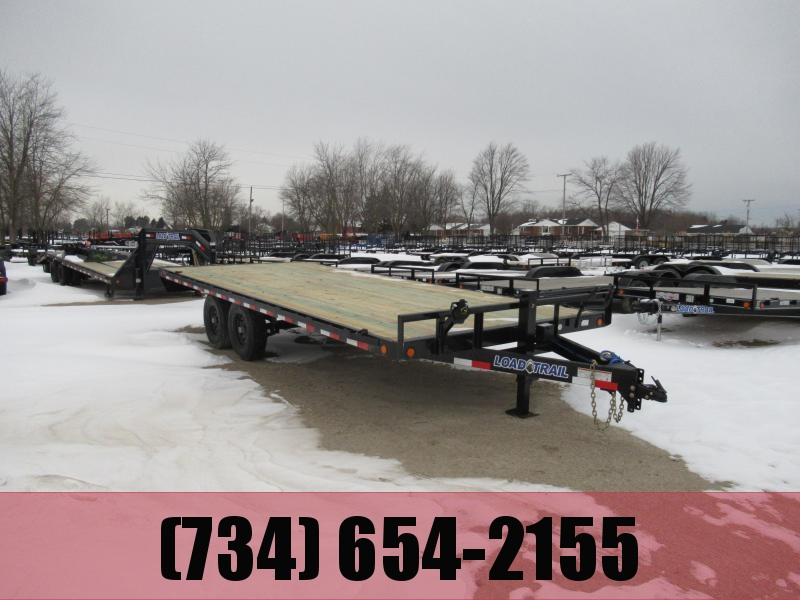 20' Load Trail Deck Over Flatbed14k
