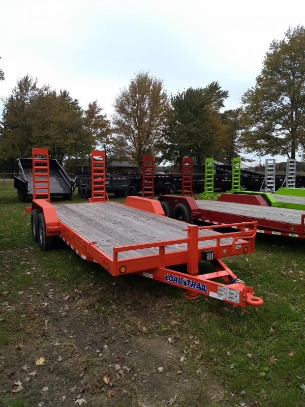 "2019 Load Trail 20"" 14K Equipment Trailer Michigan #1 selling brand of trailers"