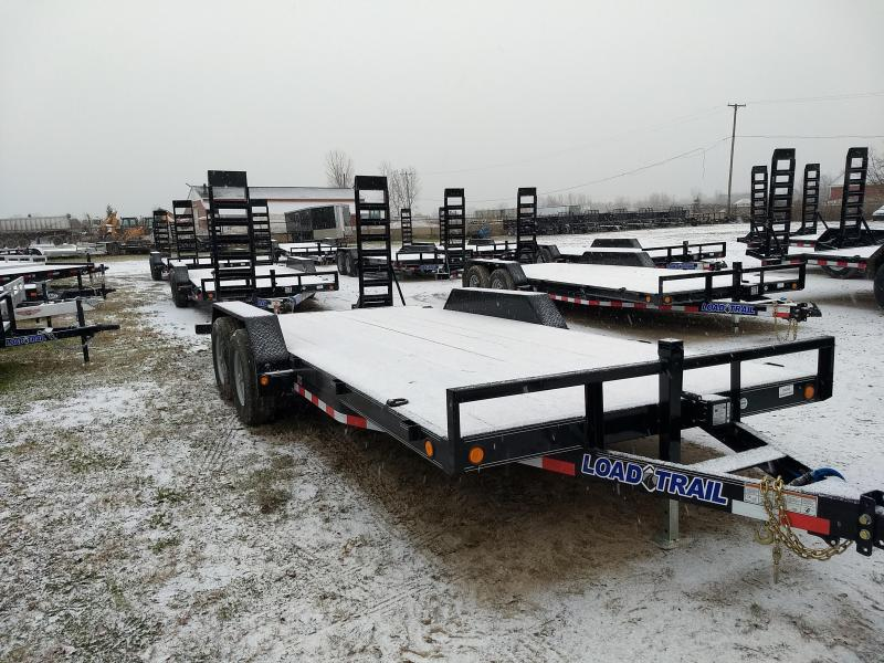 New 18' 10K Load Trail Equipment Trailer Michigan's #1 Selling Brand Of Trailers
