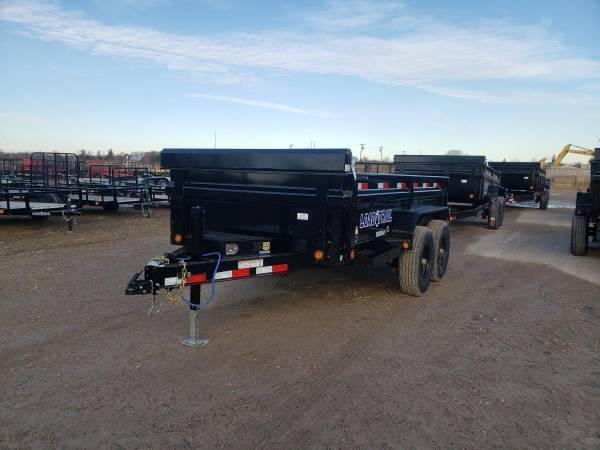 "Load Trail 72"" X 12' 10K Dump Trailer Deluxe Model"
