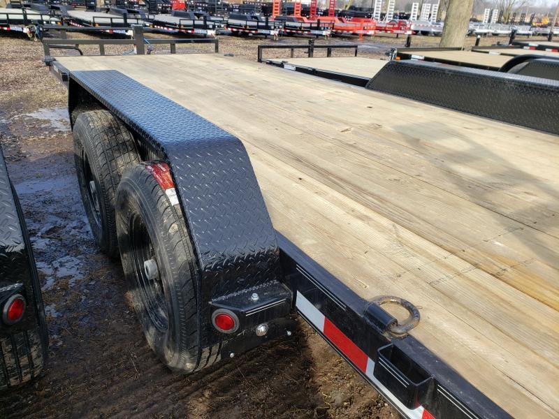 2019 Load Trail 20' 14K Equipment Trailer W/ Flip Up Ramps
